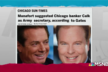 Banker loaned millions to Manafort, sought Trump admin 'rolls'