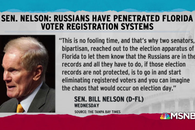 Senator Nelson: Russians have penetrated Florida election systems