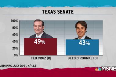 Democrats relish 'upset potential' for Cruz seat as 2018 heats up