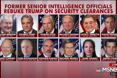 Fmr. intel chiefs rebuke Trump, but POTUS feels emboldened