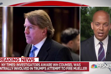 White House responds to report of lawyer cooperation with Mueller