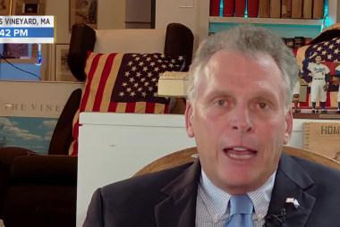 Terry McAuliffe: Avenatti in Iowa, but too soon to talk 2020