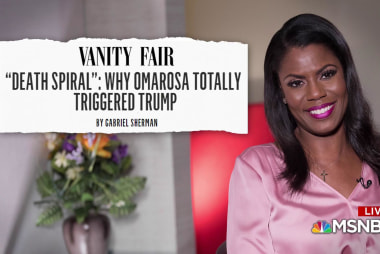 Omarosa doubles down in fight against the Trump White House