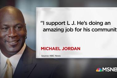 Michael Jordan to Trump: I support LeBron James