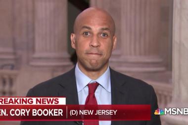 Senator Cory Booker blasts SCOTUS hearing