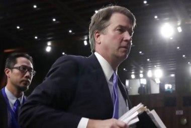 GOP plays chicken with Kavanaugh nomination