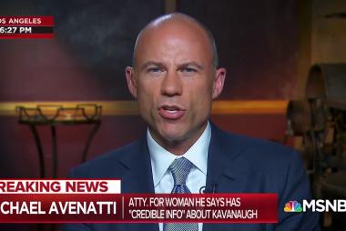 Avenatti: Kavanaugh accuser client may pursue criminal case