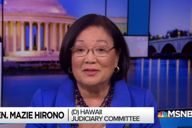 Hirono: Kavanaugh investigation should include witness tampering