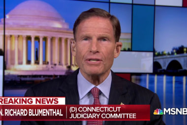 Democrats press need for investigation into Kavanaugh accusation
