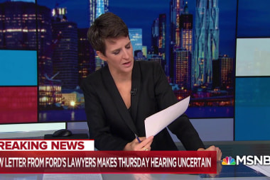 Kavanaugh accuser's lawyer blasts Grassley for prejudging hearing