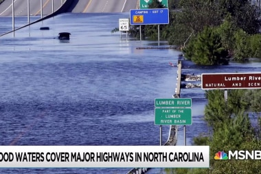 Flood waters, death toll still rising in wake of Florence