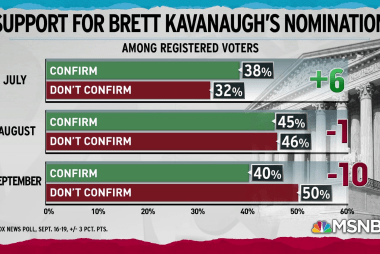 Regard for Kavanaugh plummets, Americans want hearing delay: poll