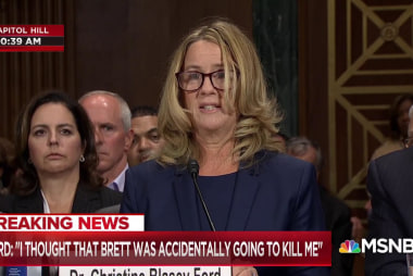 Ford describes alleged Kavanaugh assault, thought she'd 'accidentally be killed'