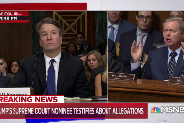 Sen. Graham defends Judge Kavanaugh: 'This is the most unethical sham since I've been in politics'