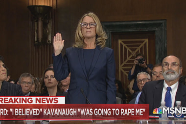 """Fmr. prosecutor: Ford was """"the witness you always hope for"""""""