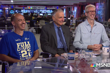 Watch Ralph Nader's zany appearance with two rap DJs