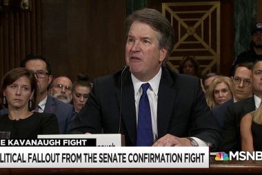 What now, post Kavanaugh?