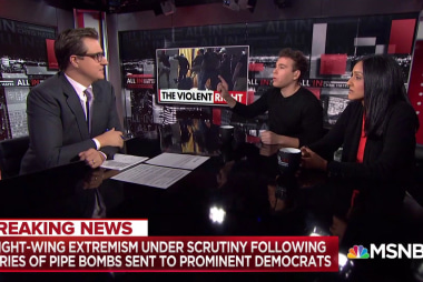 Right-wing rhetoric under scrutiny after pipe bomb deliveries