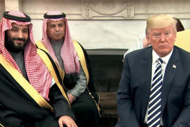 Rep. Swalwell on Trump & Saudi Arabia