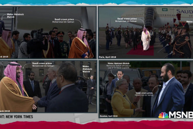 Photos of suspect with prince defy Trump/Saudi rogue killer story