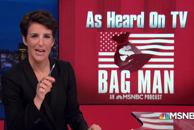 Podcast programming note! Rachel Maddow presents: Bag Man