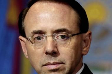 Rod Rosenstein defends Mueller probe in interview