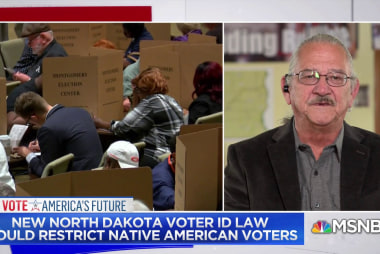 Tribe rep: Voter law is 'surgical strike against Indian country'