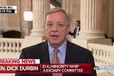 Sen. Durbin: Don't know how R's say they believe Ford yet confirm Kavanaugh