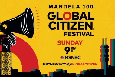 Global Citizen Festival Mandela 100