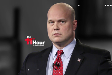 Trump's acting AG Whitaker won't recuse himself in Mueller probe