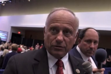 GOP Rep. Steve King blows up at constituent