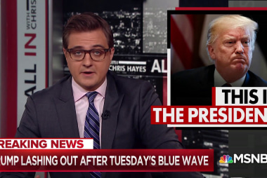 "Chris Hayes: ""Donald Trump is cornered and dangerous"""