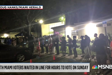 North Miami voters wait hours, determined to cast 2018 votes