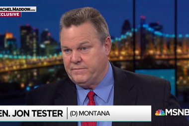 How Jon Tester won a red state election against Trump opposition