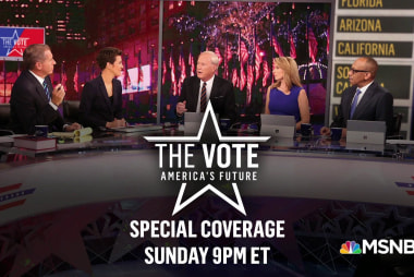 Programming Note! Special MSNBC election coverage all weekend!