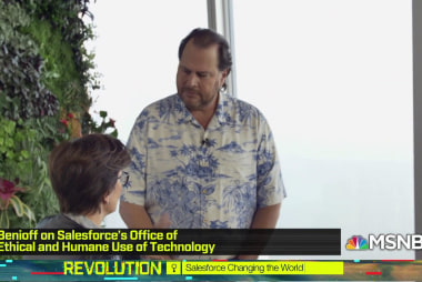 Salesforce CEO Benioff on business responsibility and 'ethical use'