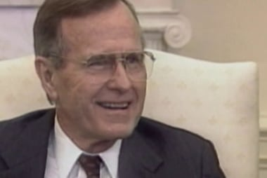 For Bush, vice presidential nomination came out of 'blue clear sky'