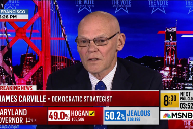 James Carville: 'It's not going to be a wave election'