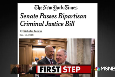 Bill targets mass incarceration, draws broad bipartisan support