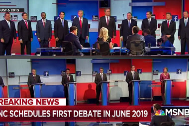 DNC schedules first debate for June 2019