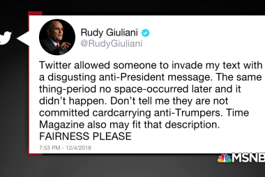 Rudy Giuliani, cybersecurity expert