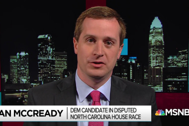 McCready: 'Harris needs to come clean' on NC vote irregularities