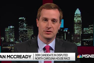 McCready: 'Harris needs to come clean' on NC vote irregularities