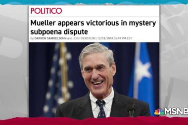 New ruling offers glimpse of corporation in secret Mueller case