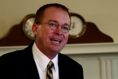 Trump announces Mick Mulvaney to be Chief of Staff