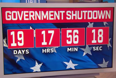 Despite shutdown and without pay, life goes on for furloughed staffers