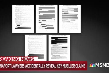 Accidental, explosive disclosure in Mueller probe