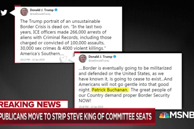 Hayes: Steve King's agenda has taken over the GOP