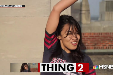Alexandria Ocasio-Cortez dances, people lose their minds