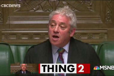 This man keeps Parliament in 'order' amidst Brexit chaos